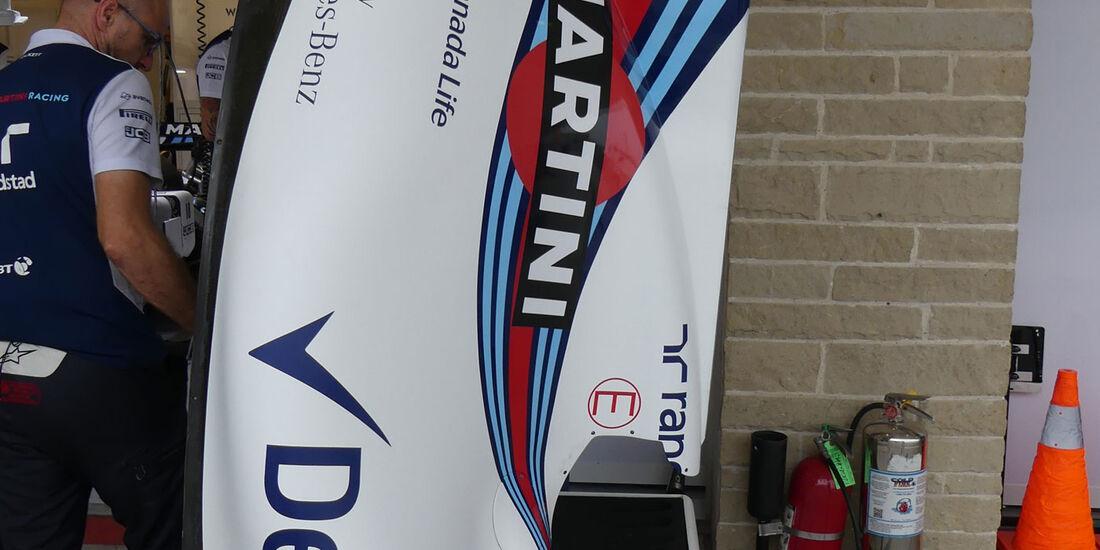 Williams - GP USA - Austin - Formel 1 - Freitag - 20.10.2017