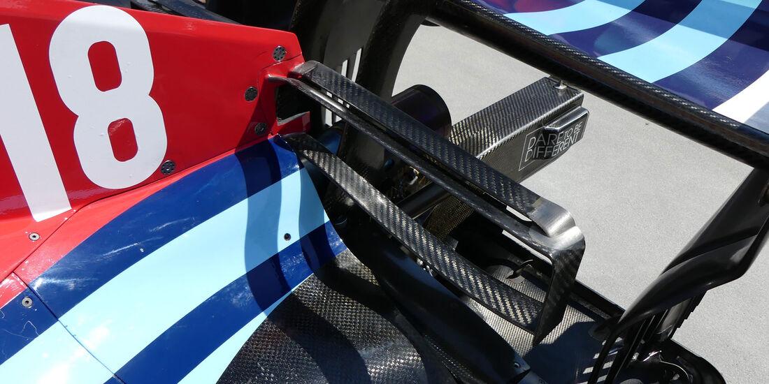 Williams - GP Ungarn - Budapest - Formel 1 - Donnerstag - 26.7.2018