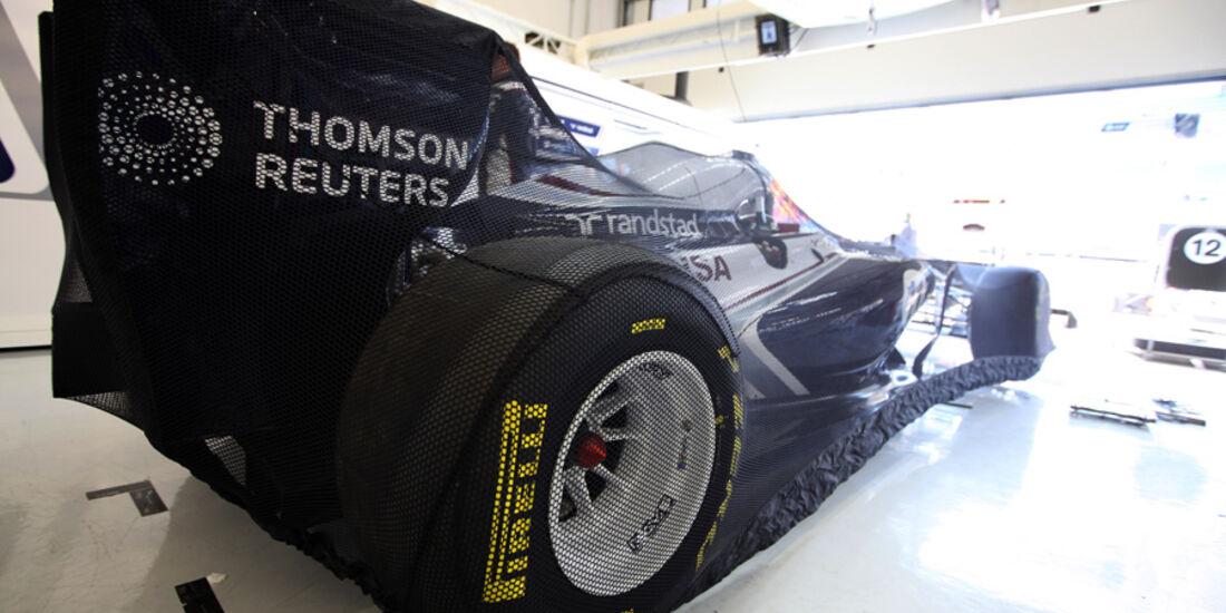 Williams Garage Netz GP Türkei 2011