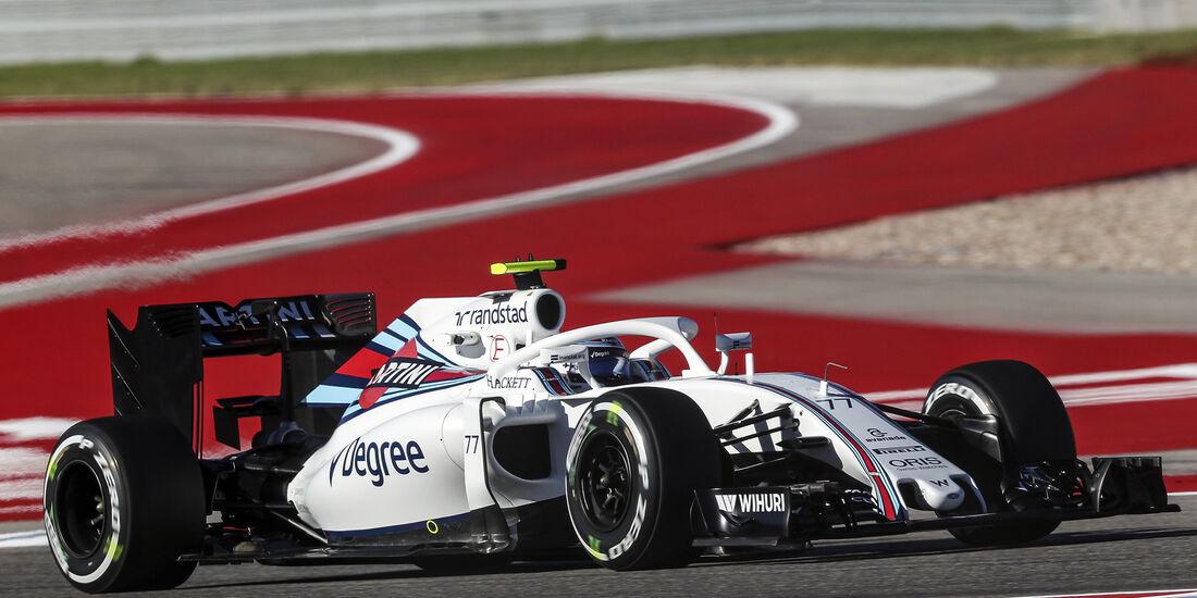 Williams - Halo-Test - Formel 1 - 2016