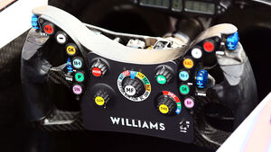 Williams - Lenkrad 2014