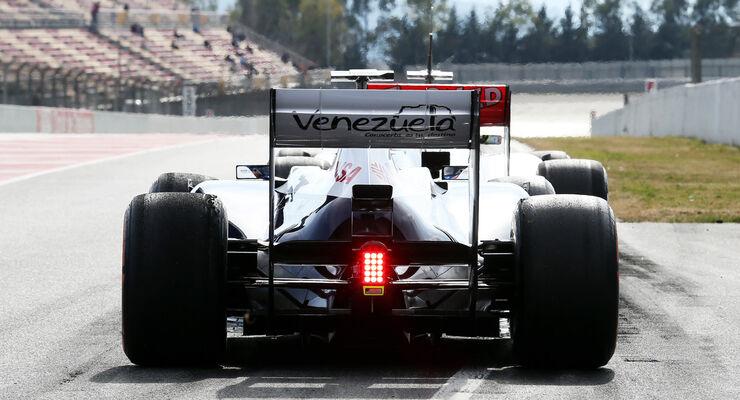 Williams Test Barcelona 2013