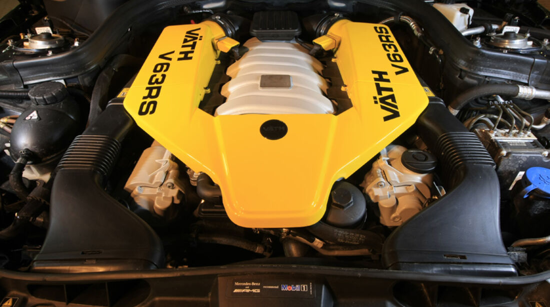 Wimmer C63 AMG, Motor