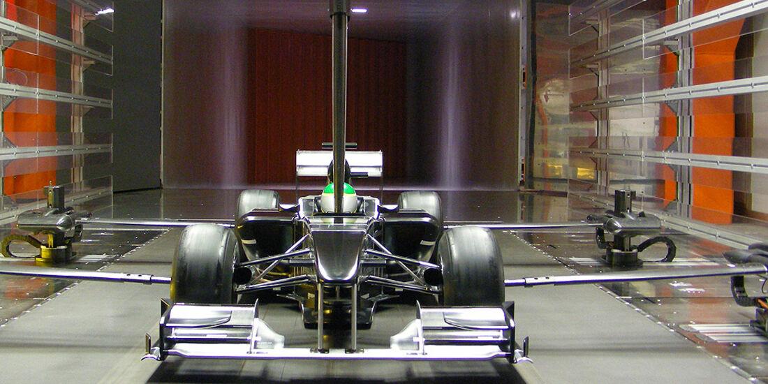 Windkanal F1