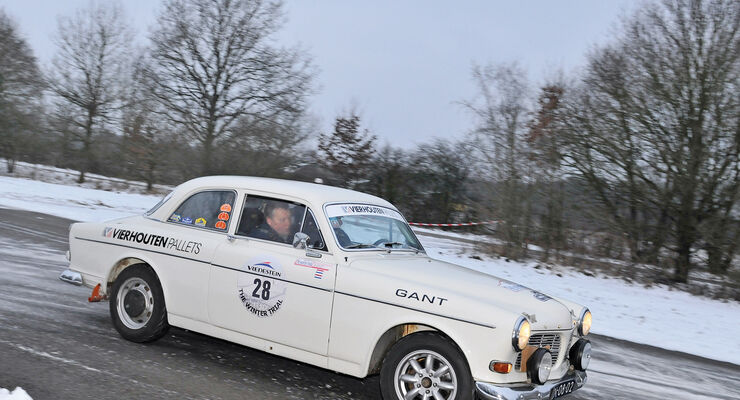 Winter Trail, Volvo Amazon 122S, Seitenansicht