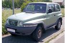 Winterautos Ssangyong Korrando