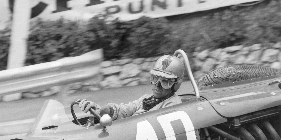 Wolfgang Graf Berghe von Trips - Ferrari 156 - GP Monaco 1961