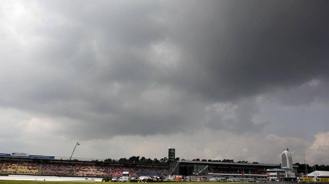 Wolken - Formel 1 - GP Deutschland - 21. Juli 2012