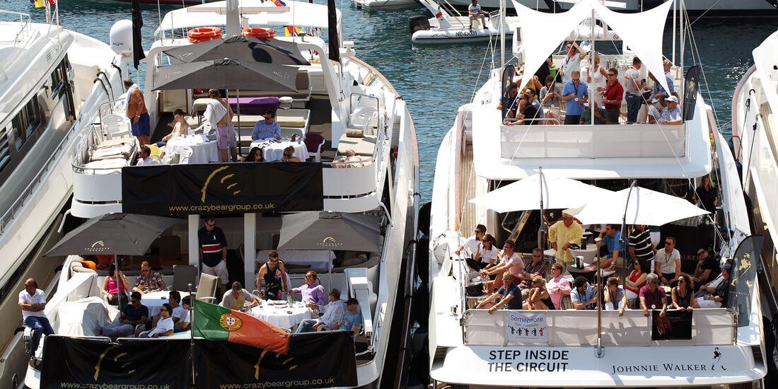 Yachten - Formel 1 - GP Monaco - 26. Mai 2012