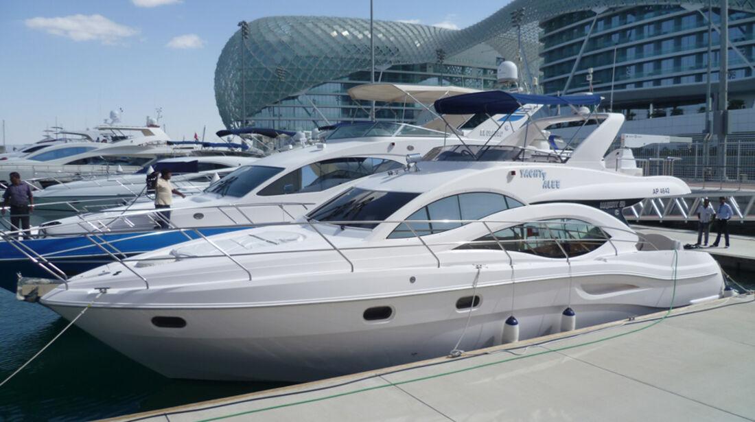 Yachthafen - GP Abu Dhabi - 10. November 2011