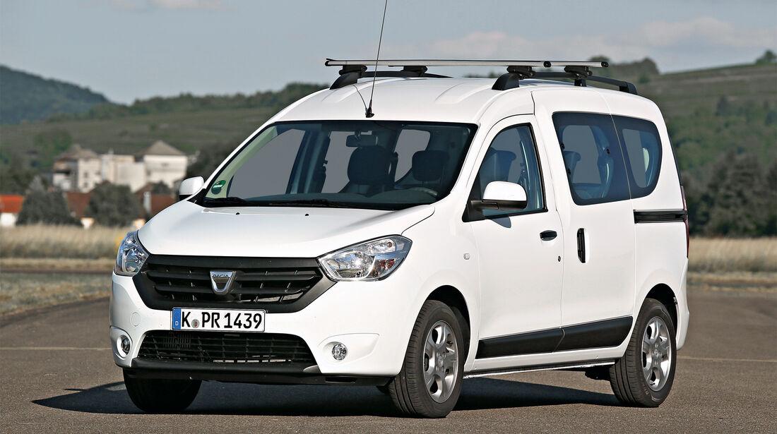 Zuladung, Fahrsicherheit, Dacia Dokker dCi 90