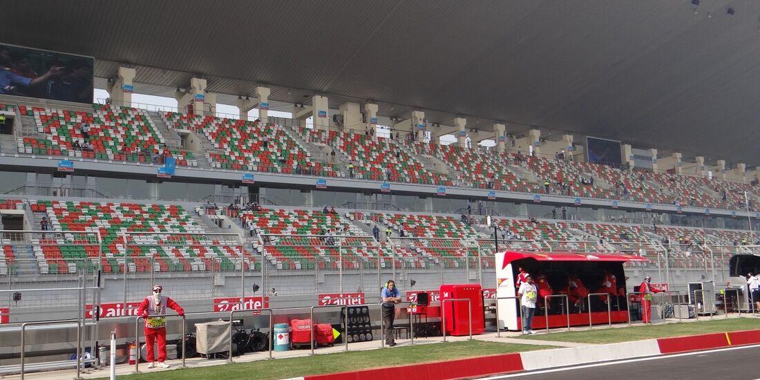 Zuschauer  - Formel 1 - GP Indien - 26. Oktober 2012