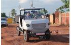 aCar Evum Motors Elektro-Nutzfahrzeug Afrika