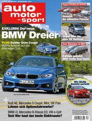 auto motor und sport 12 / 2015 Titel
