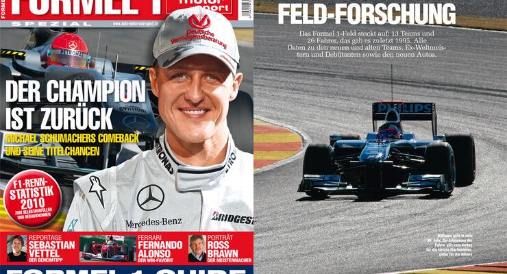 auto motor und sport Formel 1-Sonderheft 2010