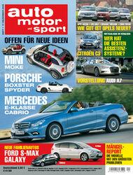 auto motor und sport Heft 01/2010