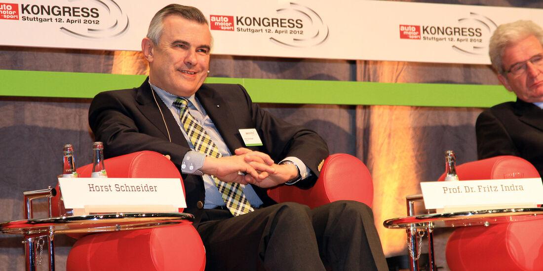 auto motor und sport-Kongress, Horst Schneider