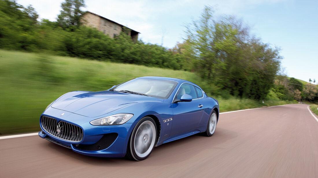 auto, motor und sport Leserwahl 2013: Kategorie G Sportwagen - Maserati Gr. Turismo