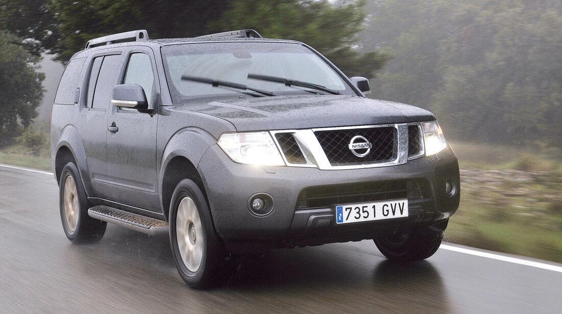 auto, motor und sport Leserwahl 2013: Kategorie I Gelände - Nissan Pathfinder