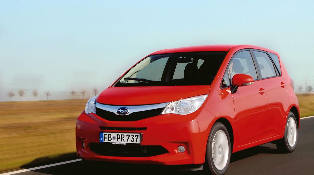 auto, motor und sport Leserwahl 2013: Kategorie K Vans - Subaru Trezia