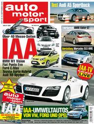 auto motor und sport Titel 20/09