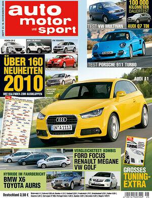 auto motor und sport Titel 25/09