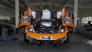 auto motor und sport beim 24h-Rennen Nürburgring, McLaren MP4-12C GT3