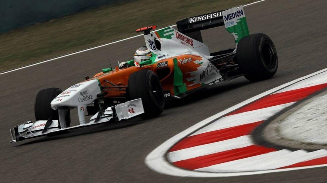 di Resta Formel 1 GP China 2011