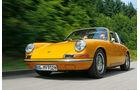 gelber Porsche 912