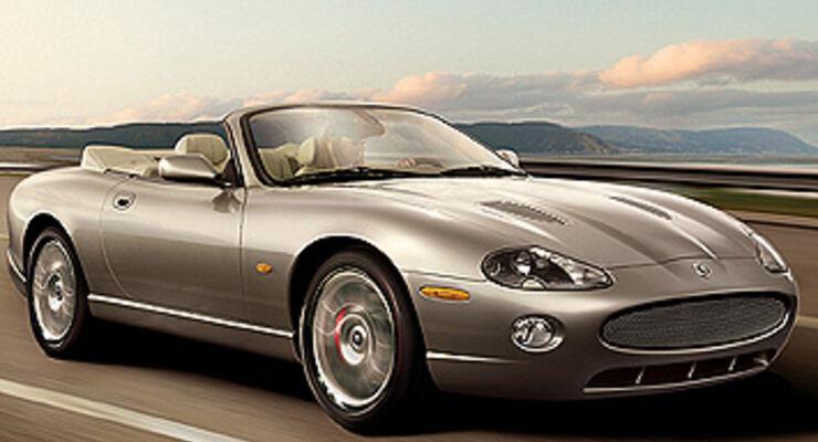 jaguar xkr cabrio finales sondermodell auto motor und sport. Black Bedroom Furniture Sets. Home Design Ideas