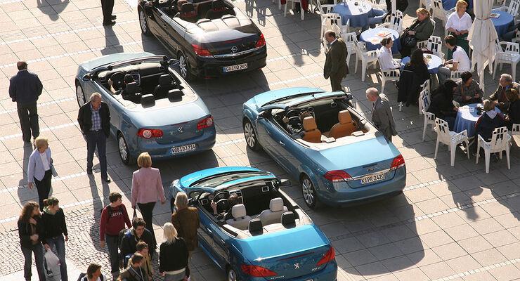 kompaktcabrios: hardtop-café - auto motor und sport