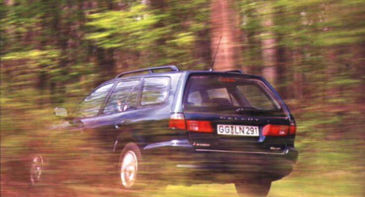 mitsubishi galant kombi 2500 v6-24 im test - auto motor und sport