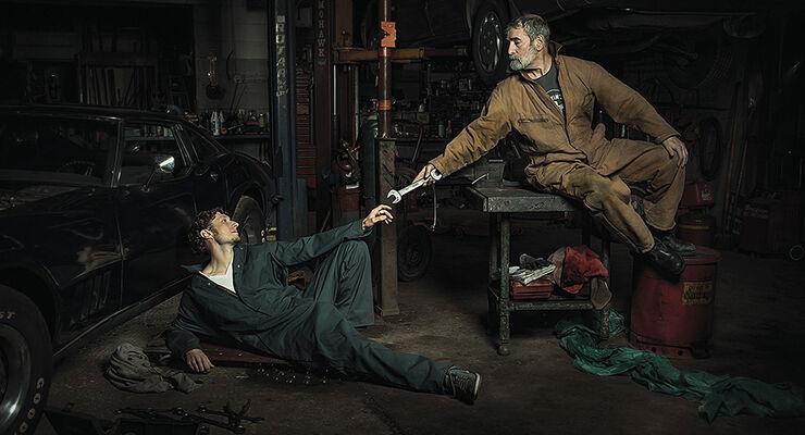 Werkstatt-Kunst: Renaissance-Klassiker neu aufgelegt - auto motor ...