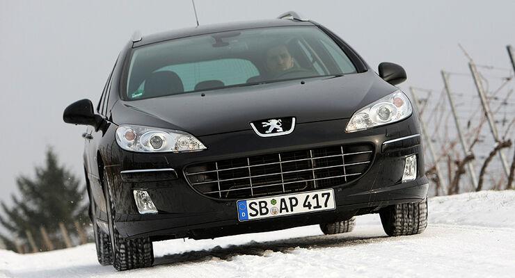peugeot 407 sw sport hdi 165 automatik im fahrbericht - auto motor
