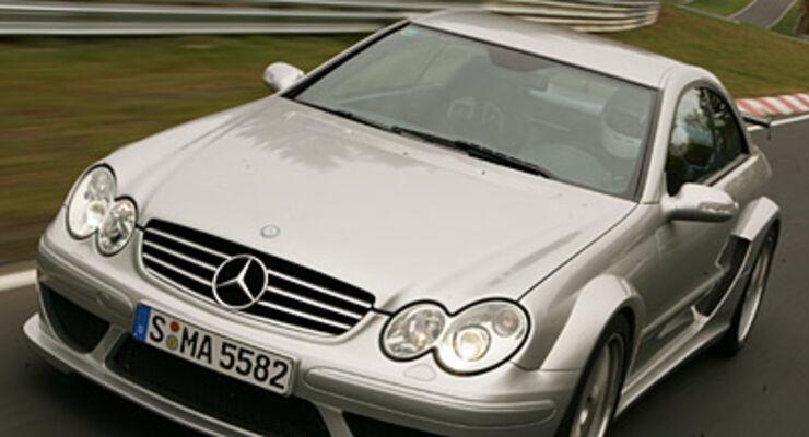 Mercedes CLK DTM AMG im Supertest auf der Nordschleife - auto motor ...