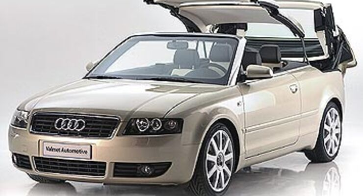 audi a4 coup cabrio valmet zeigt wie s geht auto motor und sport. Black Bedroom Furniture Sets. Home Design Ideas