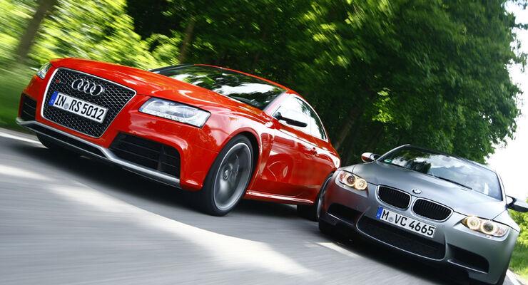 Audi Rs5 Gegen Bmw M3 Coupe Im Test Vergleich Potente V8 Sportwagen