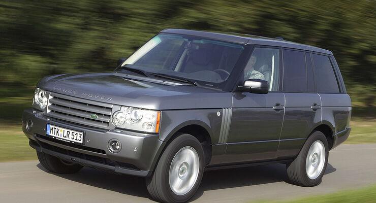 gebrauchtwagen range rover im m ngelreport auto motor. Black Bedroom Furniture Sets. Home Design Ideas