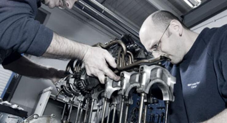 Meisterwerk: Mercedes M196-Rennmotor im Detail - auto motor und sport