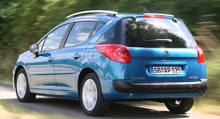 Peugeot 207 Sw Im Test Auto Motor Und Sport
