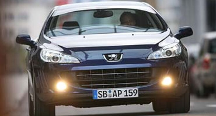 peugeot 407 coupé hdi fap 135 im test - auto motor und sport