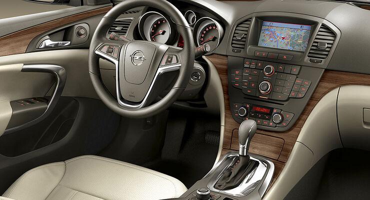 Opel Insignia: Erste Sitzprobe - auto motor und sport