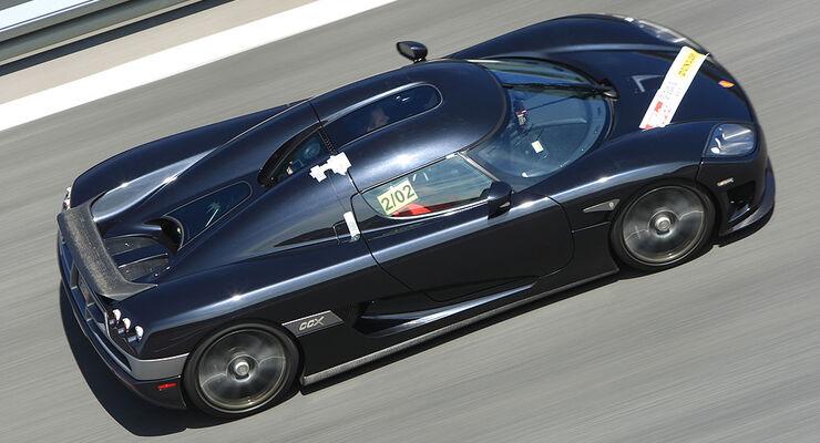 Aktion 0-300-0: Koenigsegg CCX - auto motor und sport