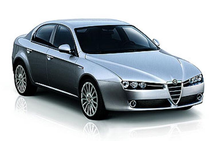 alfa romeo 159 technische daten auto motor und sport. Black Bedroom Furniture Sets. Home Design Ideas