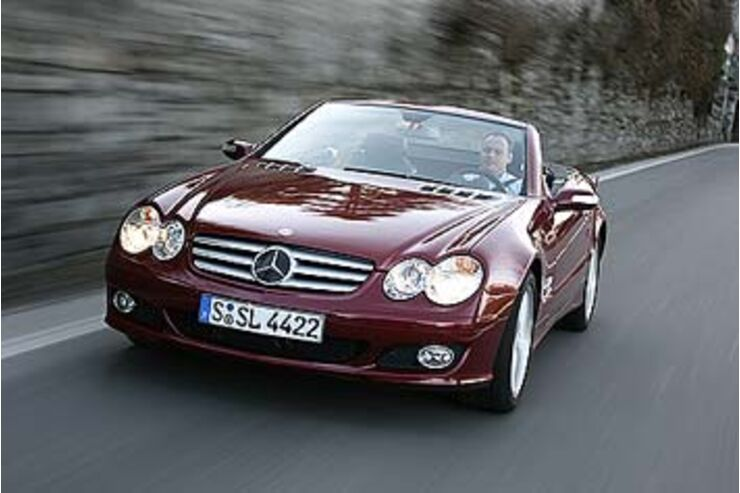 mercedes sl 500 im test airw rden auto motor und sport. Black Bedroom Furniture Sets. Home Design Ideas