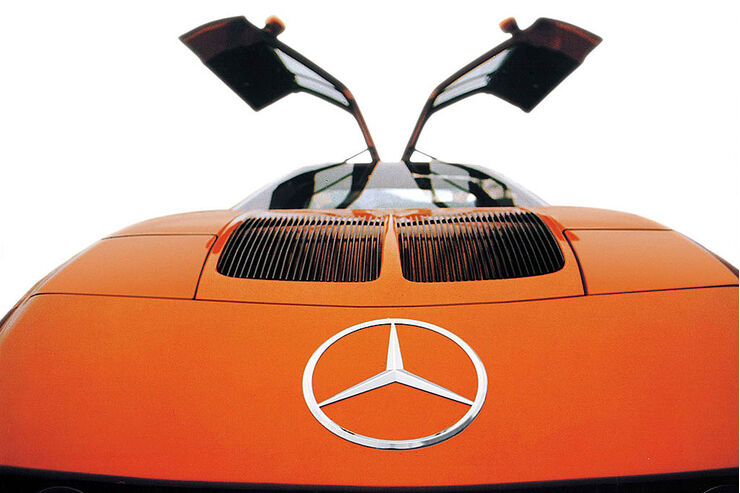 Mercedes Benz C 111 Supersport Rekordwagen Mit