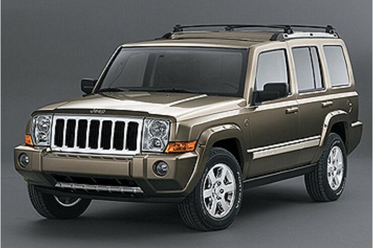 jeep commander king size offroader mit sieben sitzen. Black Bedroom Furniture Sets. Home Design Ideas