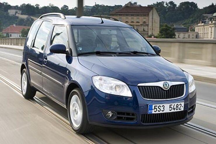 Gebrauchtwagen Skoda Roomster Im Mängelreport Ohne Schwächen Auto