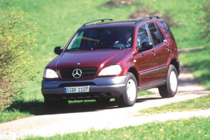 mercedes m-klasse (w163) technische daten - auto motor und sport