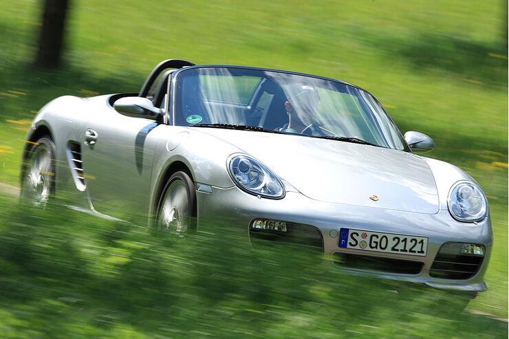 Porsche Boxster Rs 60 Spyder Im Test Auto Motor Und Sport